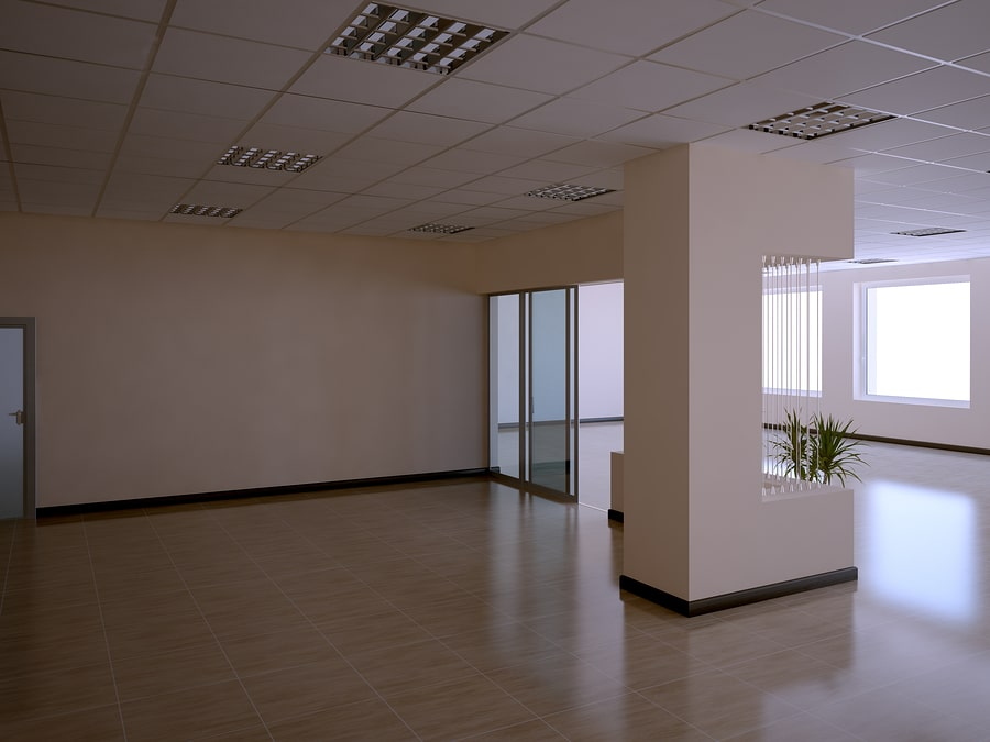 completed hall office reinstatement singapore
